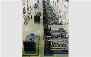 Calsion provide 10 units 10.5KV 2000kW high voltage Perkins generator set to China Cinda (Hefei) Disaster and Support Base