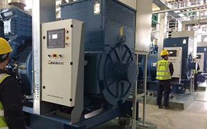 6×1800kW MTU Industry Generator Commissioning On Site
